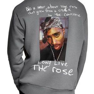 "Tupac ""Rose From Concrete"" 2PAC Sweatshirt"